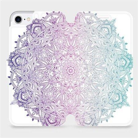 Flipové pouzdro Mobiwear na mobil Apple iPhone 8 - M008S Mandala