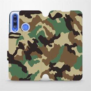 Flipové pouzdro Mobiwear na mobil Honor 20 Lite - V111P Maskáče