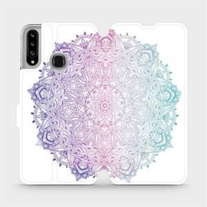 Flipové pouzdro Mobiwear na mobil Samsung Galaxy A20S - M008S Mandala