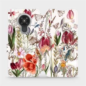 Flip pouzdro Mobiwear na mobil Nokia 5.3 - MP01S Rozkvetlá louka