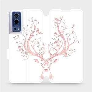 Flip pouzdro Mobiwear na mobil Vivo Y72 5G / Vivo Y52 5G - M007S Růžový jelínek