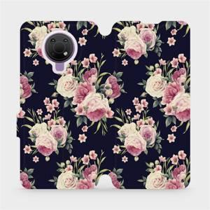 Flip pouzdro Mobiwear na mobil Nokia G10 - V068P Růžičky