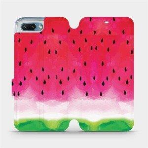 Flipové pouzdro Mobiwear na mobil Honor 10 - V086S Melounek
