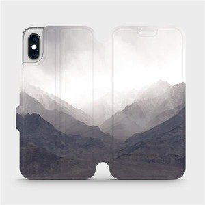 Flipové pouzdro Mobiwear na mobil Apple iPhone XS - M151P Hory