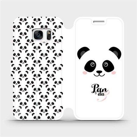 Flipové pouzdro Mobiwear na mobil Samsung Galaxy S7 Edge - M030P Panda Amálka