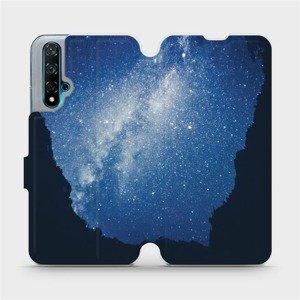 Flipové pouzdro Mobiwear na mobil Huawei Nova 5T - M146P Galaxie