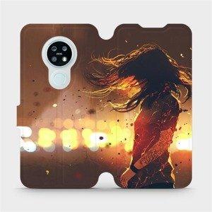 Flipové pouzdro Mobiwear na mobil Nokia 6.2 - MA02S Tetovaná dívka