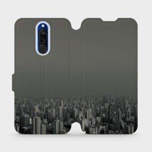 Flipové pouzdro Mobiwear na mobil Xiaomi Redmi 8 - V063P Město v šedém hávu
