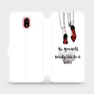 Flipové pouzdro Mobiwear na mobil Xiaomi Redmi 8a - M046P Be yourself