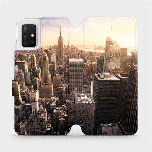 Flipové pouzdro Mobiwear na mobil Samsung Galaxy A51 - M138P New York