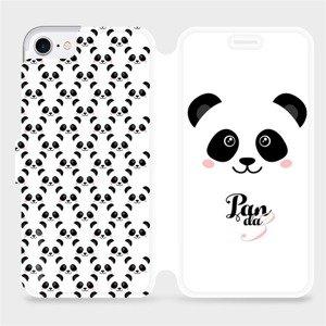 Flipové pouzdro Mobiwear na mobil Apple iPhone SE 2020 - M030P Panda Amálka