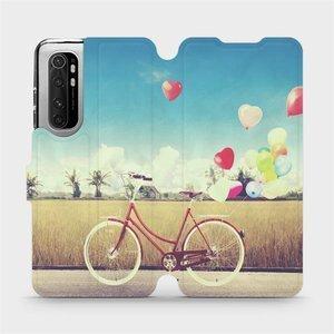 Flipové pouzdro Mobiwear na mobil Xiaomi Mi Note 10 Lite - M133P Kolo a balónky