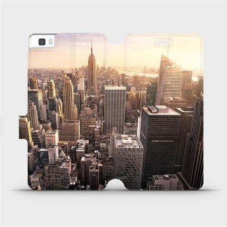 Flipové pouzdro Mobiwear na mobil Huawei P8 Lite - M138P New York