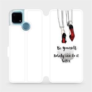 Flip pouzdro Mobiwear na mobil Realme 7i - M046P Be yourself