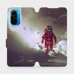 Flipové pouzdro Mobiwear na mobil Xiaomi Mi 11i / Xiaomi Poco F3 - MA07S Týpek ve skafandru