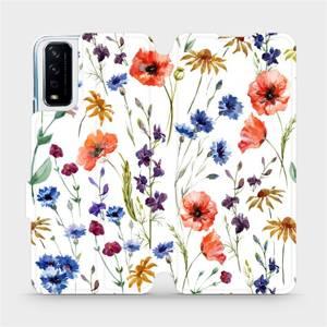 Flip pouzdro Mobiwear na mobil Vivo Y11S - MP04S Luční kvítí