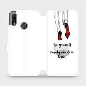 Flipové pouzdro Mobiwear na mobil Huawei P Smart 2019 - M046P Be yourself