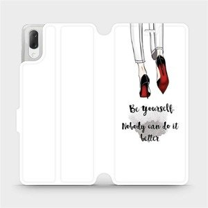 Flipové pouzdro Mobiwear na mobil Sony Xperia L3 - M046P Be yourself