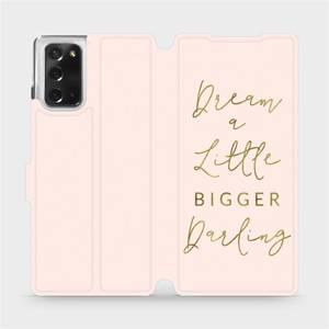 Flipové pouzdro Mobiwear na mobil Samsung Galaxy Note 20 - M014S Dream a little