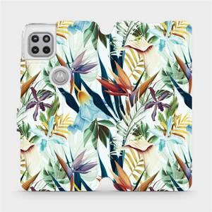 Flipové pouzdro Mobiwear na mobil Motorola Moto G 5G - M071P Flóra