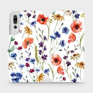 Flip pouzdro Mobiwear na mobil Huawei P20 Pro - MP04S Luční kvítí