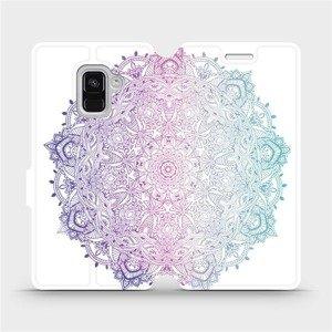 Flipové pouzdro Mobiwear na mobil Samsung Galaxy A8 2018 - M008S Mandala
