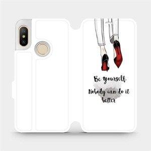 Flipové pouzdro Mobiwear na mobil Xiaomi Mi A2 Lite - M046P Be yourself