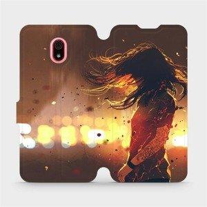 Flipové pouzdro Mobiwear na mobil Xiaomi Redmi 8a - MA02S Tetovaná dívka