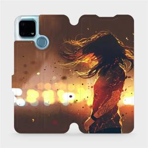 Flip pouzdro Mobiwear na mobil Realme 7i - MA02S Tetovaná dívka