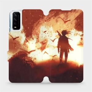 Flipové pouzdro Mobiwear na mobil Vivo Y11S - MA06S Postava v ohni