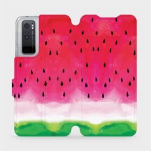 Flipové pouzdro Mobiwear na mobil Vivo Y70 - V086S Melounek