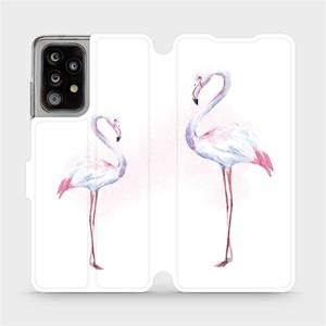 Flipové pouzdro Mobiwear na mobil Samsung Galaxy A52 / A52 5G / A52s 5G - M005S Plameňáci