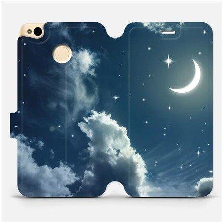Flipové pouzdro Mobiwear na mobil Xiaomi Redmi 4X - V145P Noční obloha s měsícem