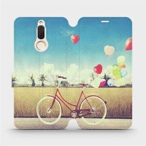 Flipové pouzdro Mobiwear na mobil Huawei Mate 10 Lite - M133P Kolo a balónky