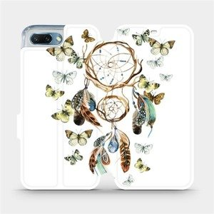 Flipové pouzdro Mobiwear na mobil Honor 10 - M001P Lapač a motýlci