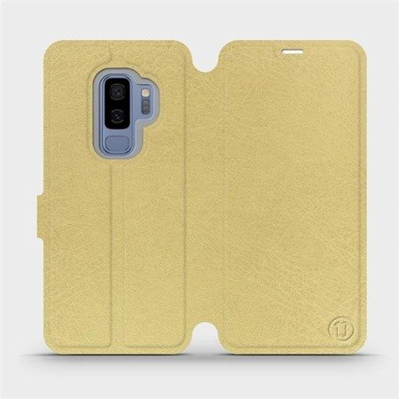 Etui do Samsung Galaxy S9 Plus - wzór Gold&Orange