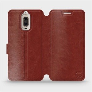 Etui do Huawei Mate 9 Pro - wzór Brown&Gray