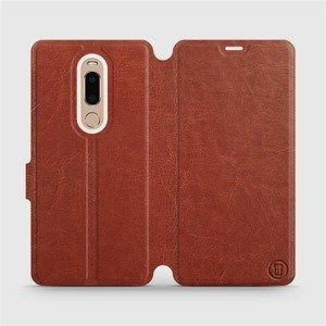 Etui do Meizu M8 - wzór Brown&Orange